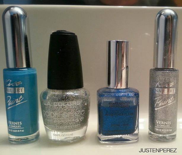 blue-silver-glitter-nail-polish