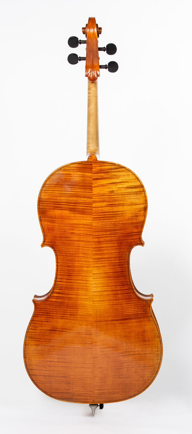 Starkie Strad B model cello 2019 back.jpg