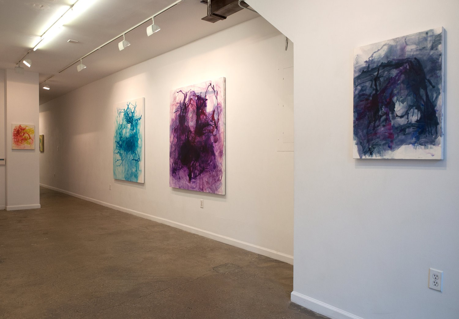 "Installation view of ""Cadences,"" Equity Gallery, New York, NY, October 17 - December 1, 2018"