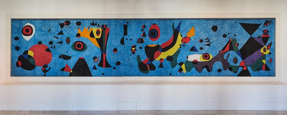Joan Miro's Mural for the Terrace Plaza Hotel