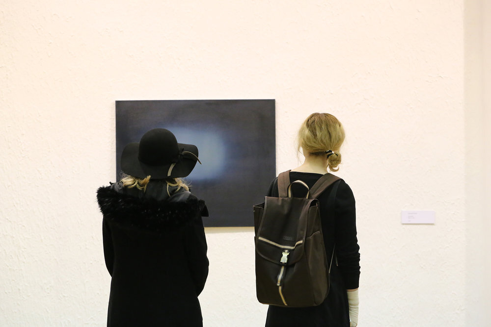Exhibition view of  Overlapped , by Rosanda Sorakaitė