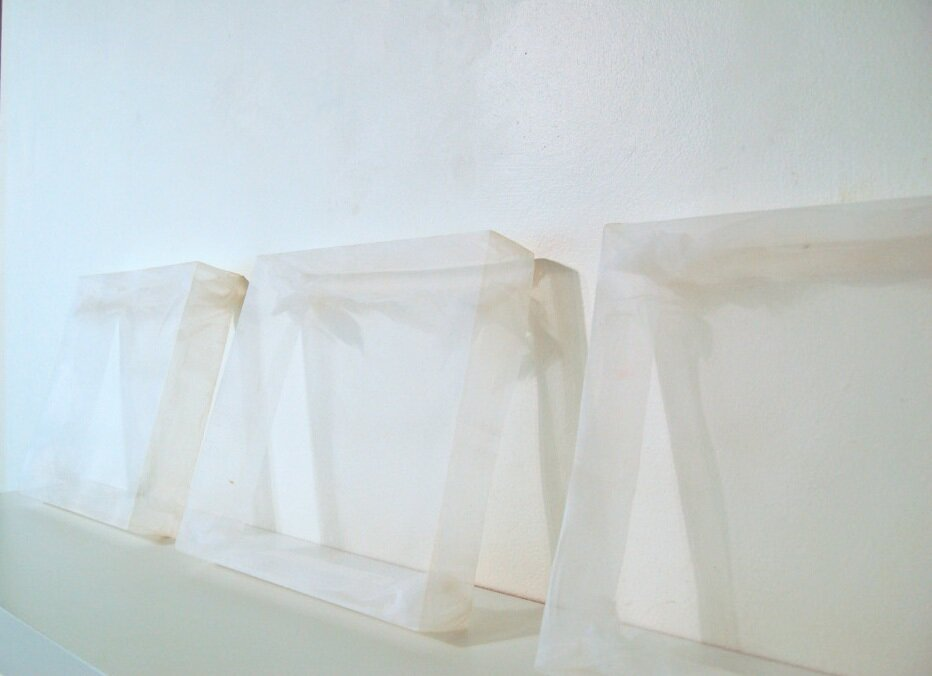Installation View;    Blank Canvas     :   part of a solo exhibition at  Mary Baldwin College , VA.