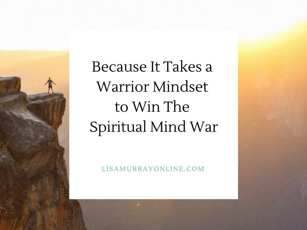 Because It Takes a Warrior Mindset to Win The Spiritual Mind War
