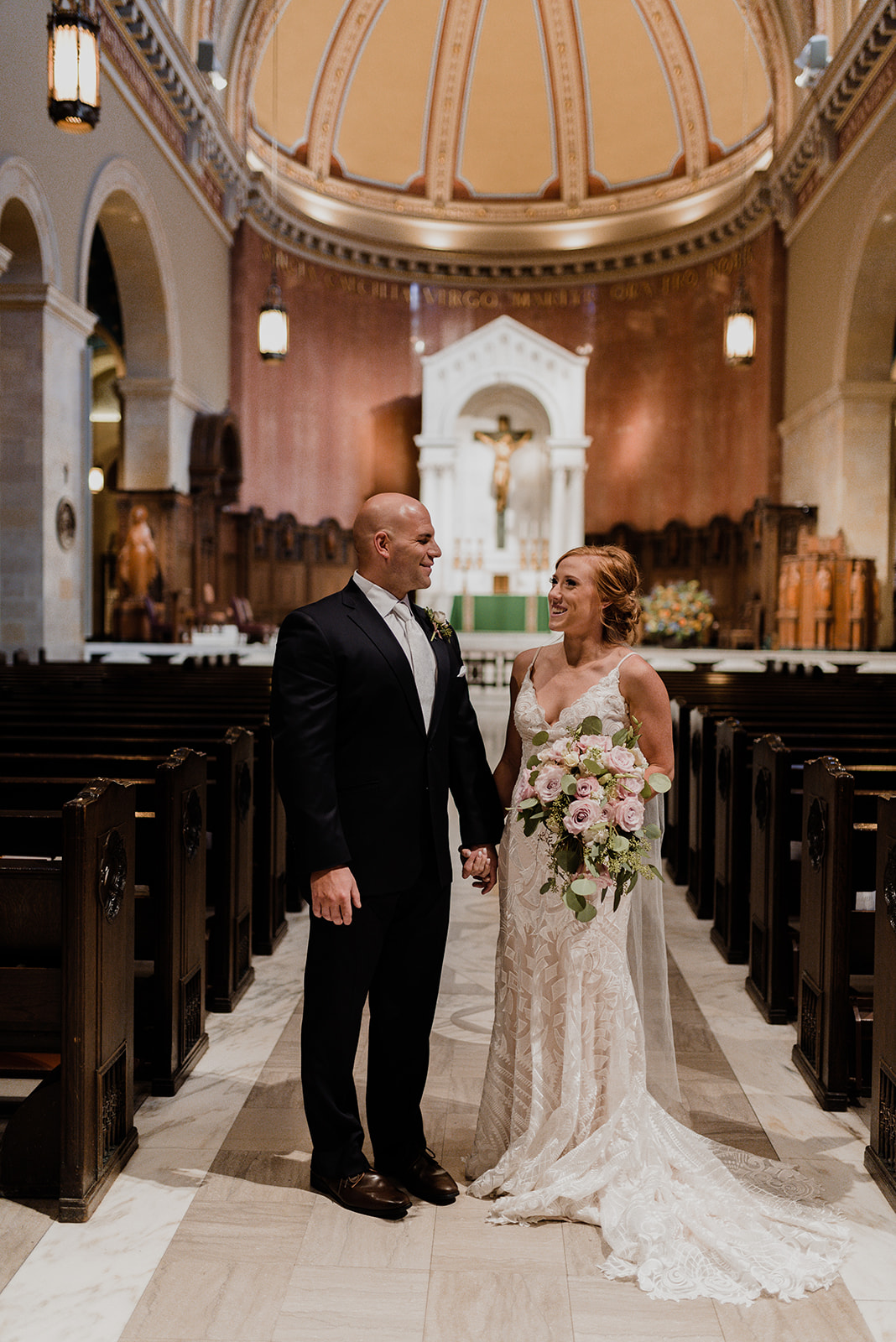 """Caitlin // Bride - """"Definitely made picking floral arrangements an easy part of all of the planning! I LOVED everything we came up with together, and loved it all even more when the day came and I saw the bouquets. Everything was absolutely perfect!""""PHOTO: CHARITY JOY PHOTOGRAPHY"""