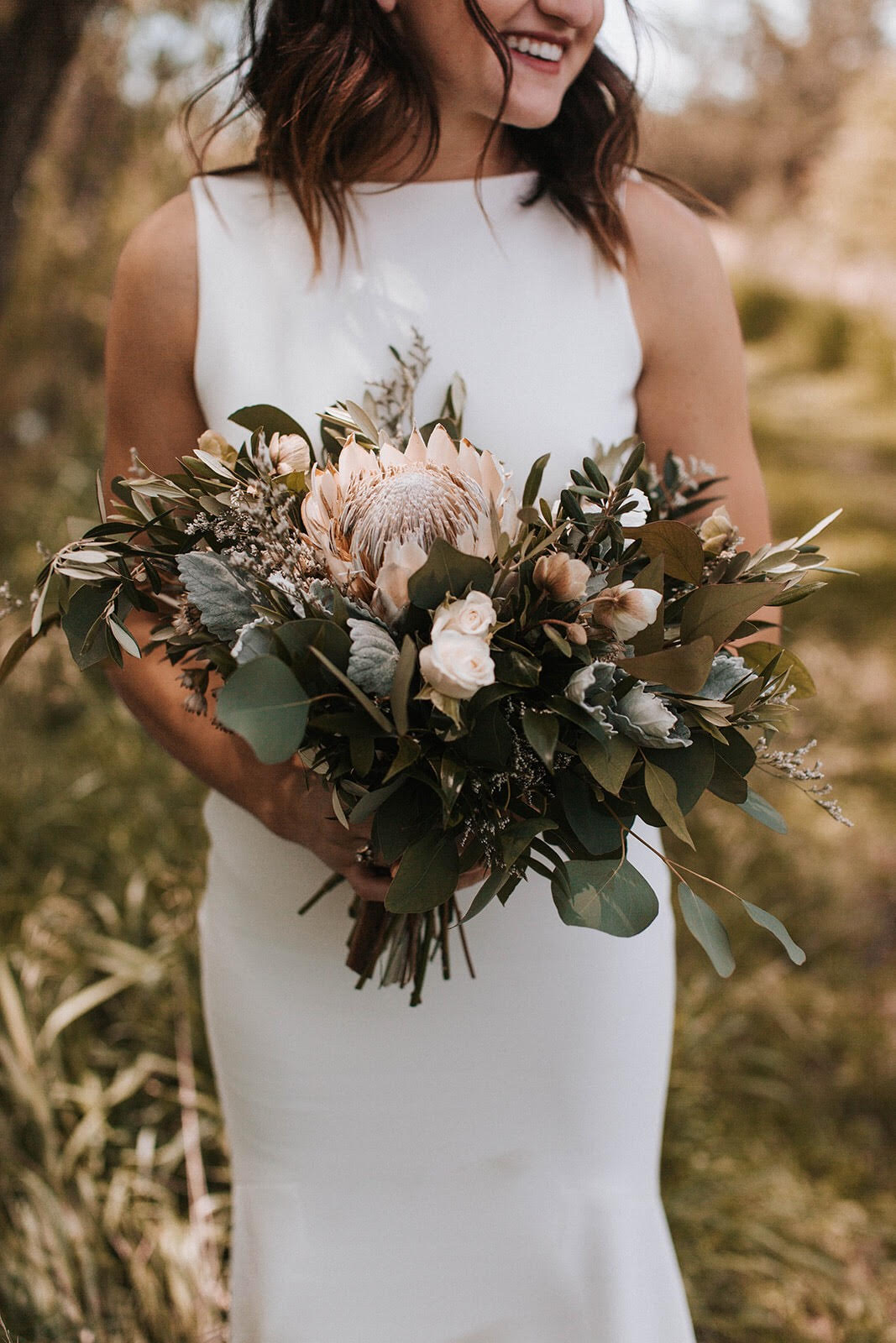 """Bailey // Bride - """"I just wanted to send a HUGE thank you for your wonderful work on the flowers. I was/am OBSESSED. They exceeded all expectations!!""""PHOTO: HALEY CHICOINE PHOTOGRAPHY"""