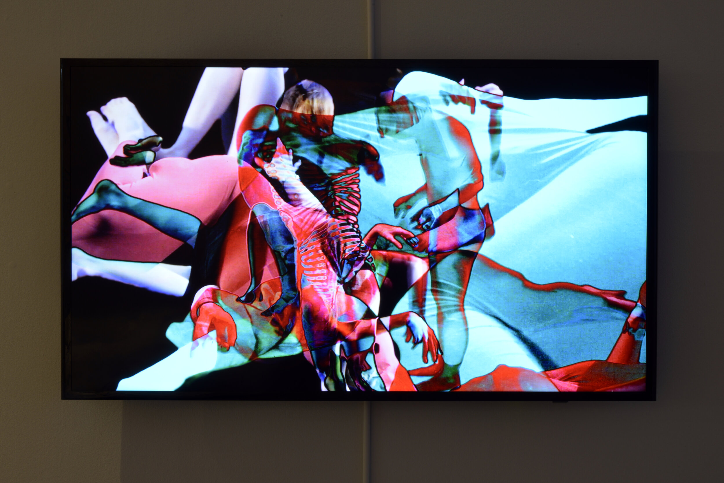 Lasha Mowchun,   Second Skin 9video still),   2014, video, 4:25, Collection of the Artist. Photo by Don Hall.