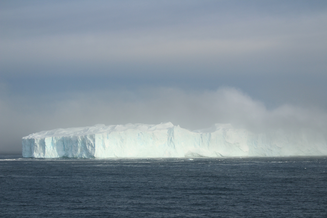 This was a huge iceberg!