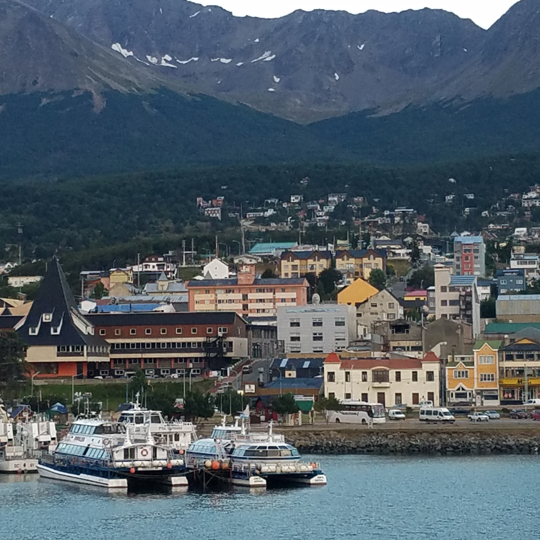 The southern city of Ushuaia
