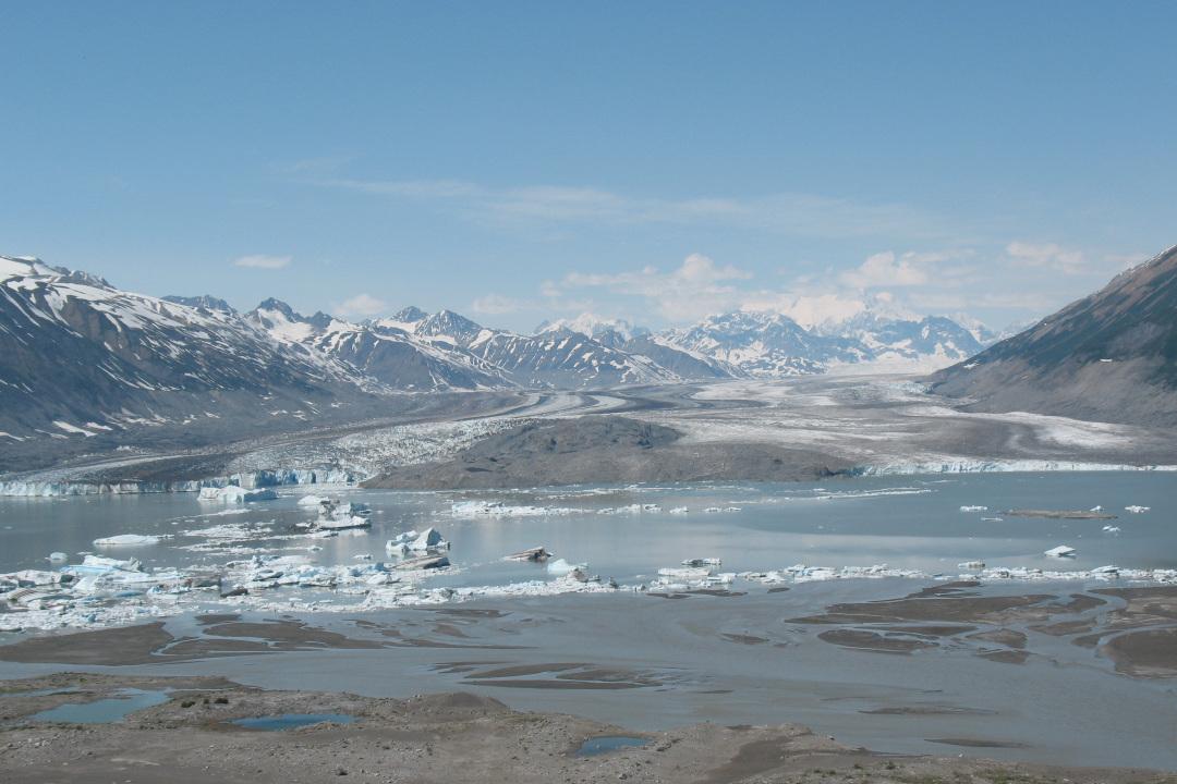 Lowell Glacier 2009
