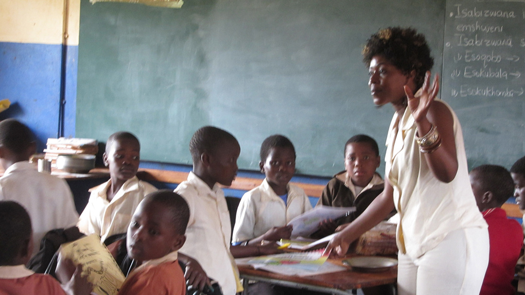 A South African classroom, 2012