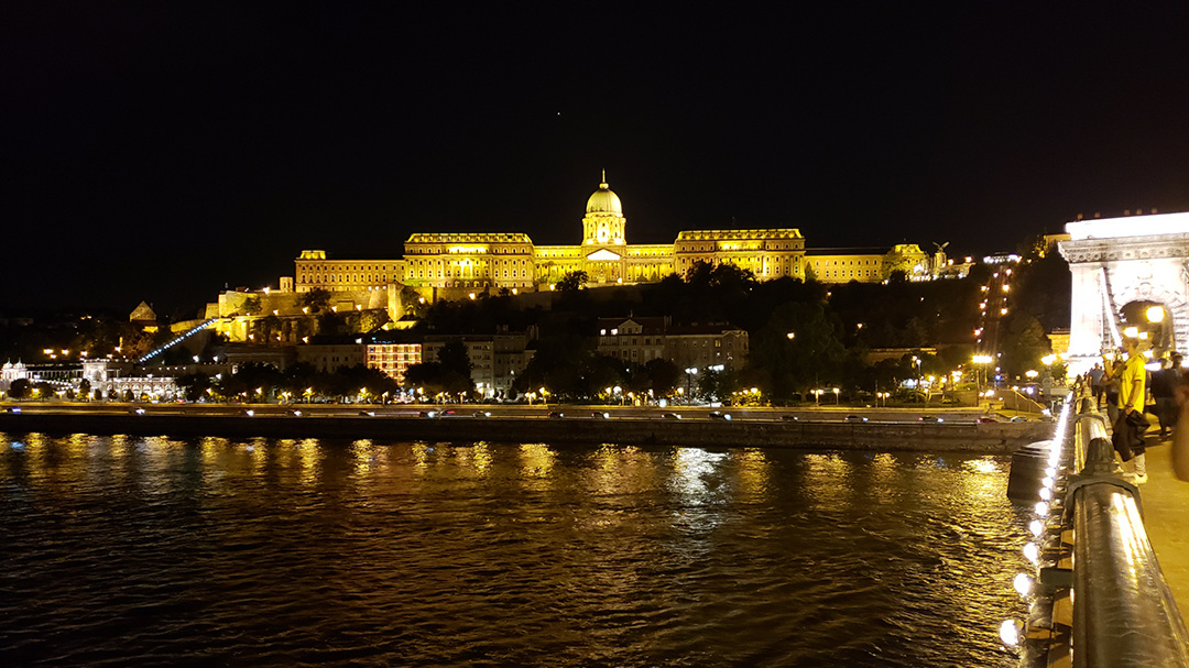 The Royal Palace from the Chain Bridge