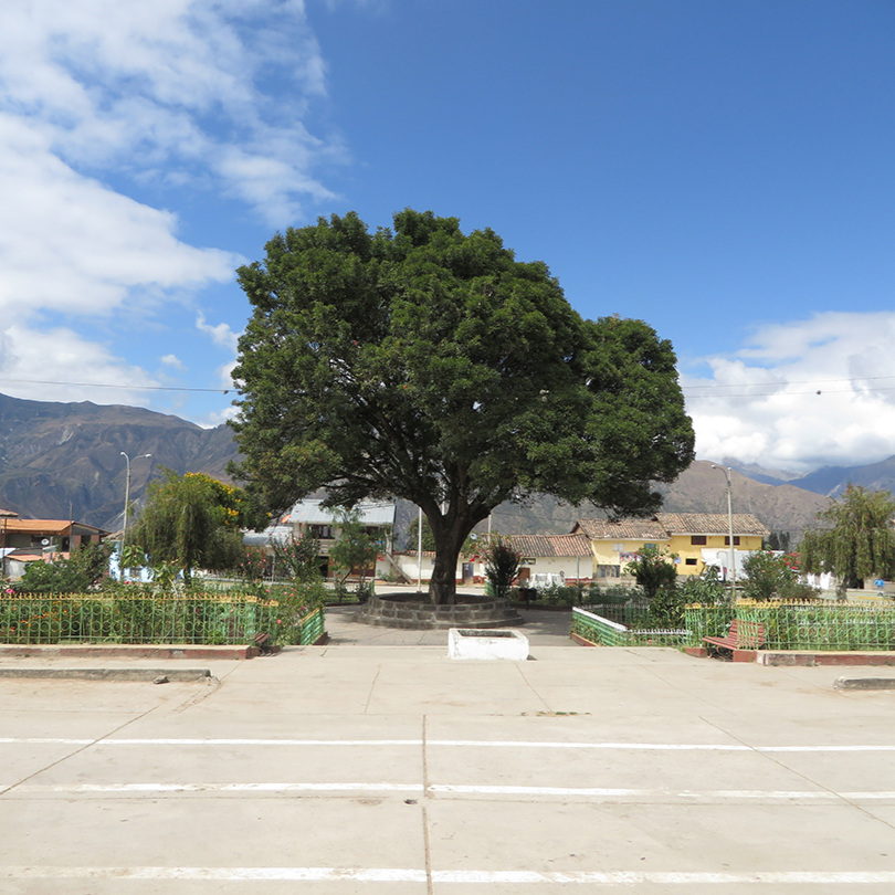 the town square at Mollepata