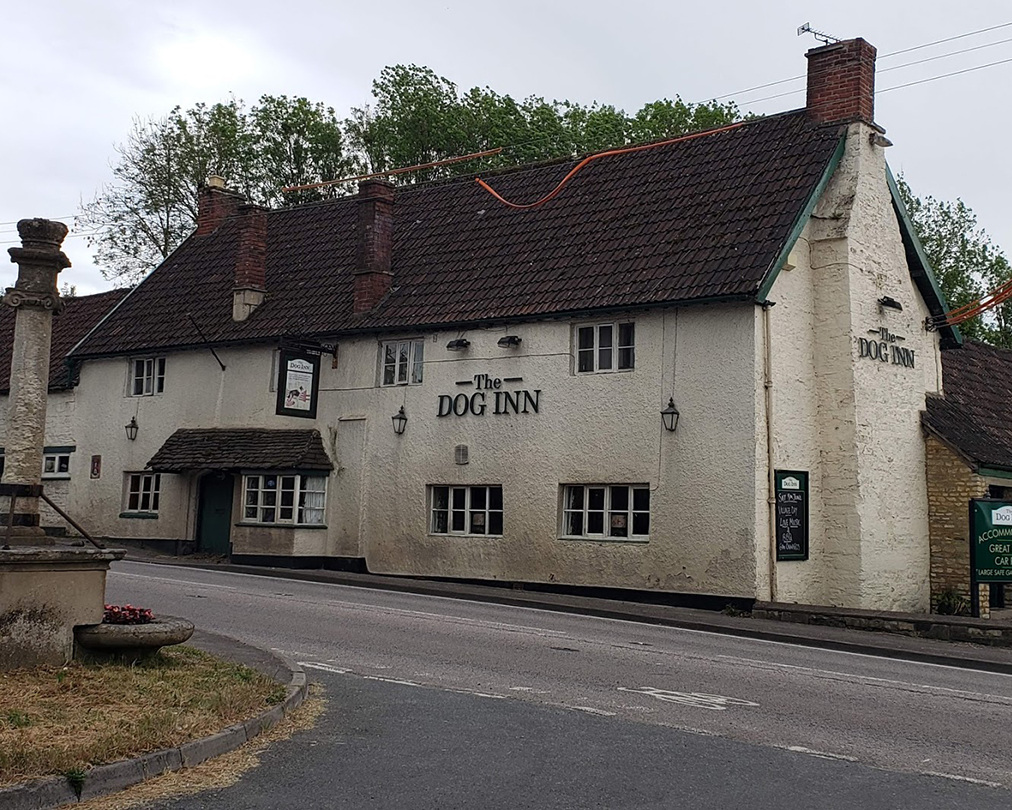 The Dog Inn (very authentic).