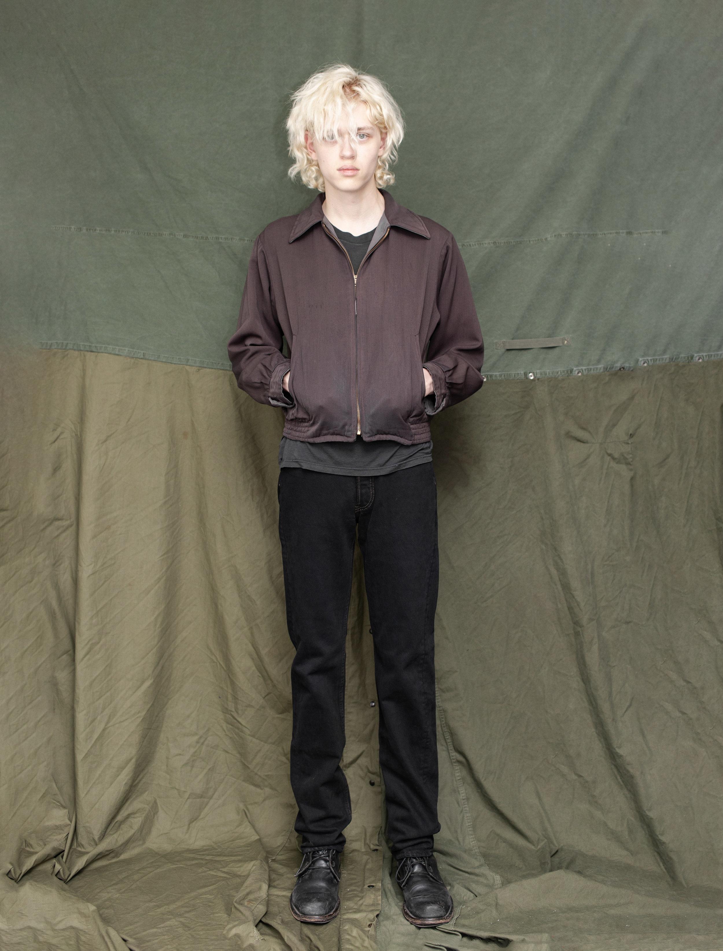 50's Reversible Gabardine Jacket 80's Levi's 501 Jeans