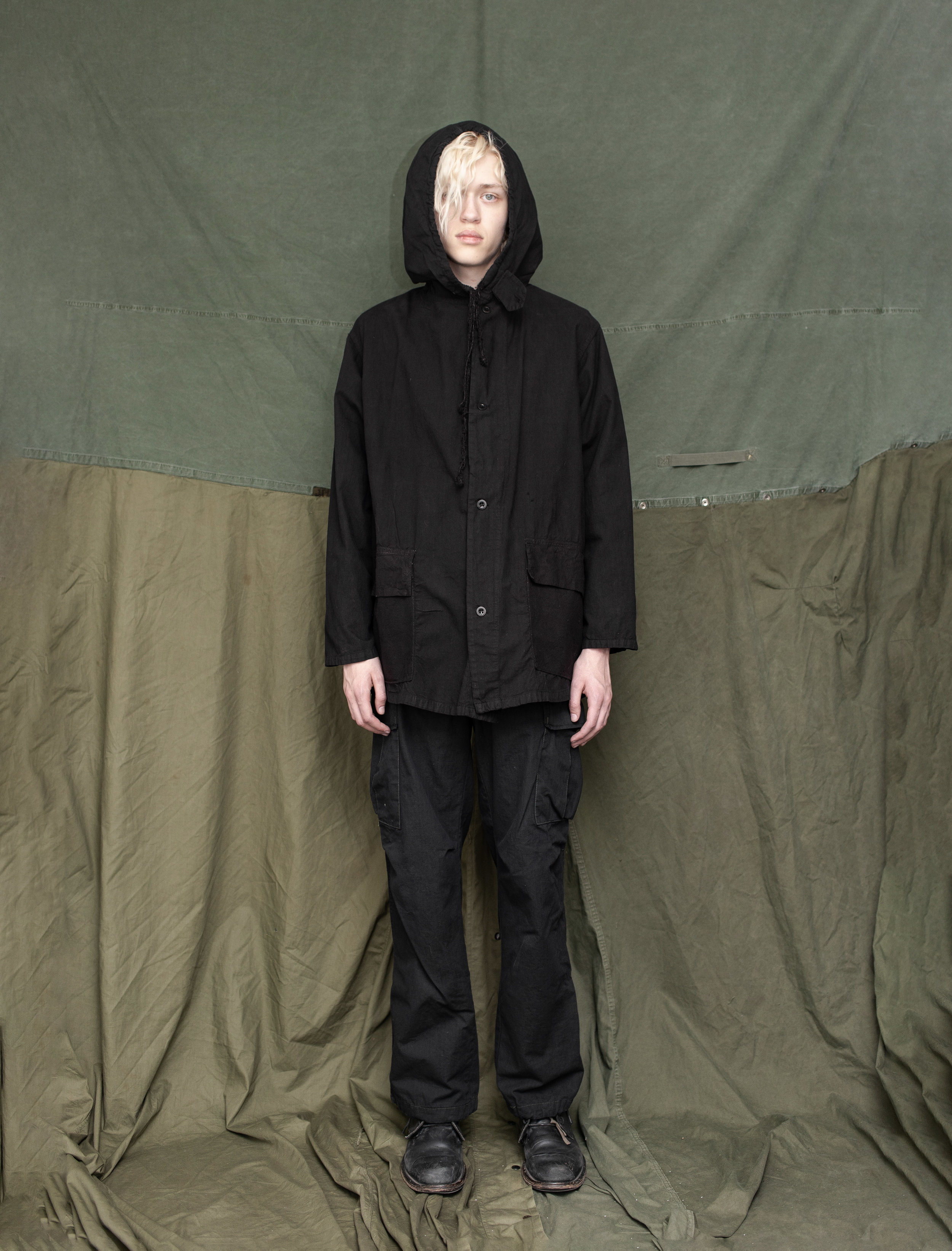 40's WWII Swiss Army Parka 70's US Army Ripstop Cargo Pants
