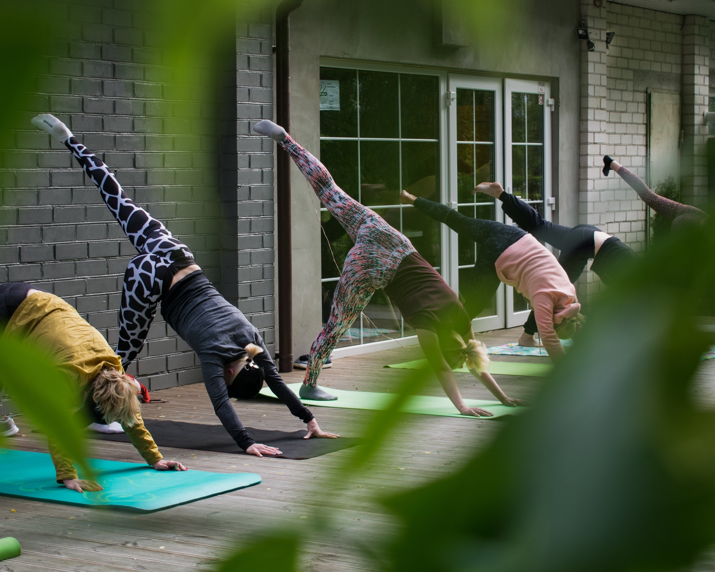 Gentle Vinyasa Yoga + Intention Setting   Come ready for a dynamic vinyasa flow where we will move purposefully through breath and movement.