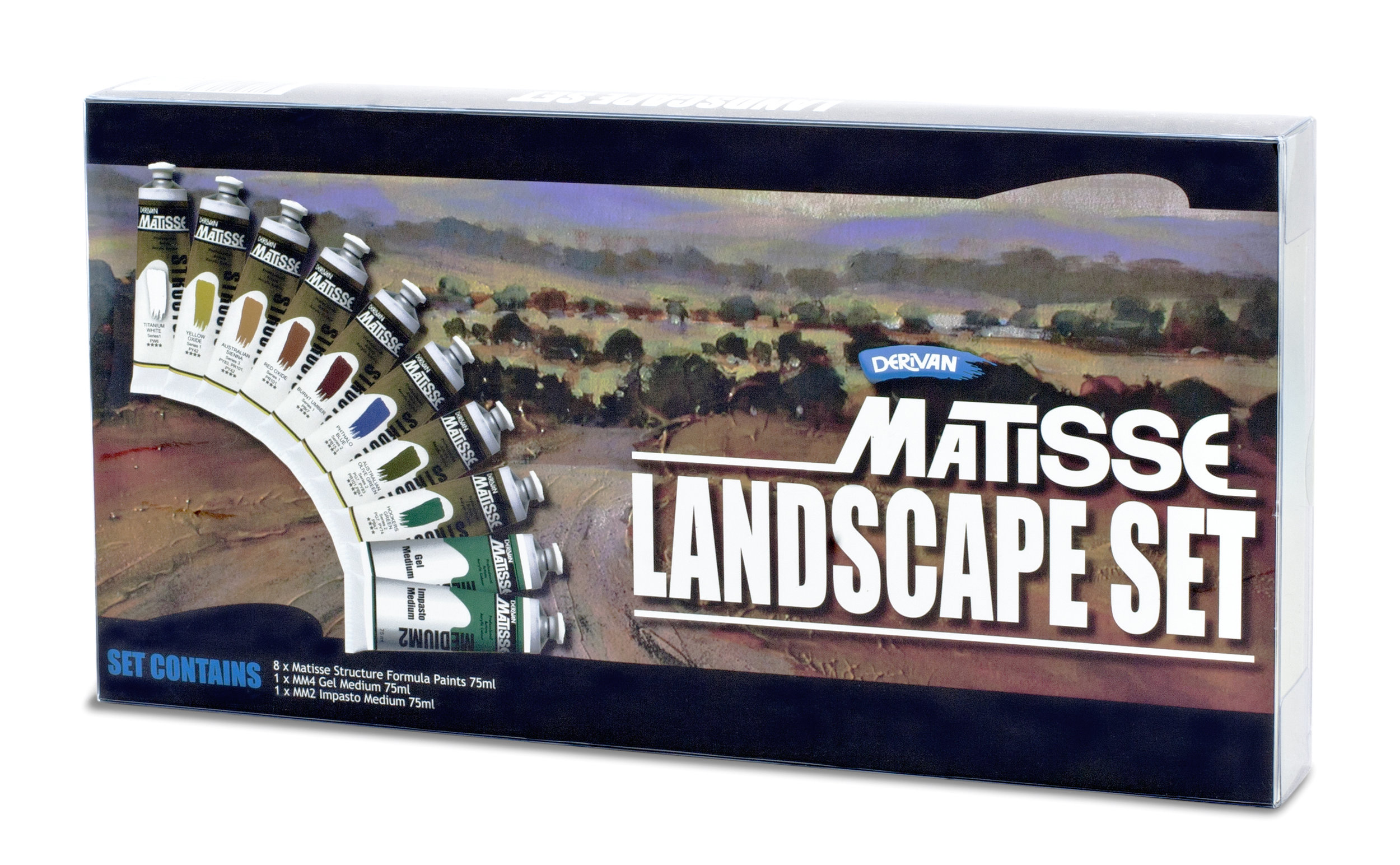 MATISSE LANDSCAPE SET - STRUCTURE FORMULA