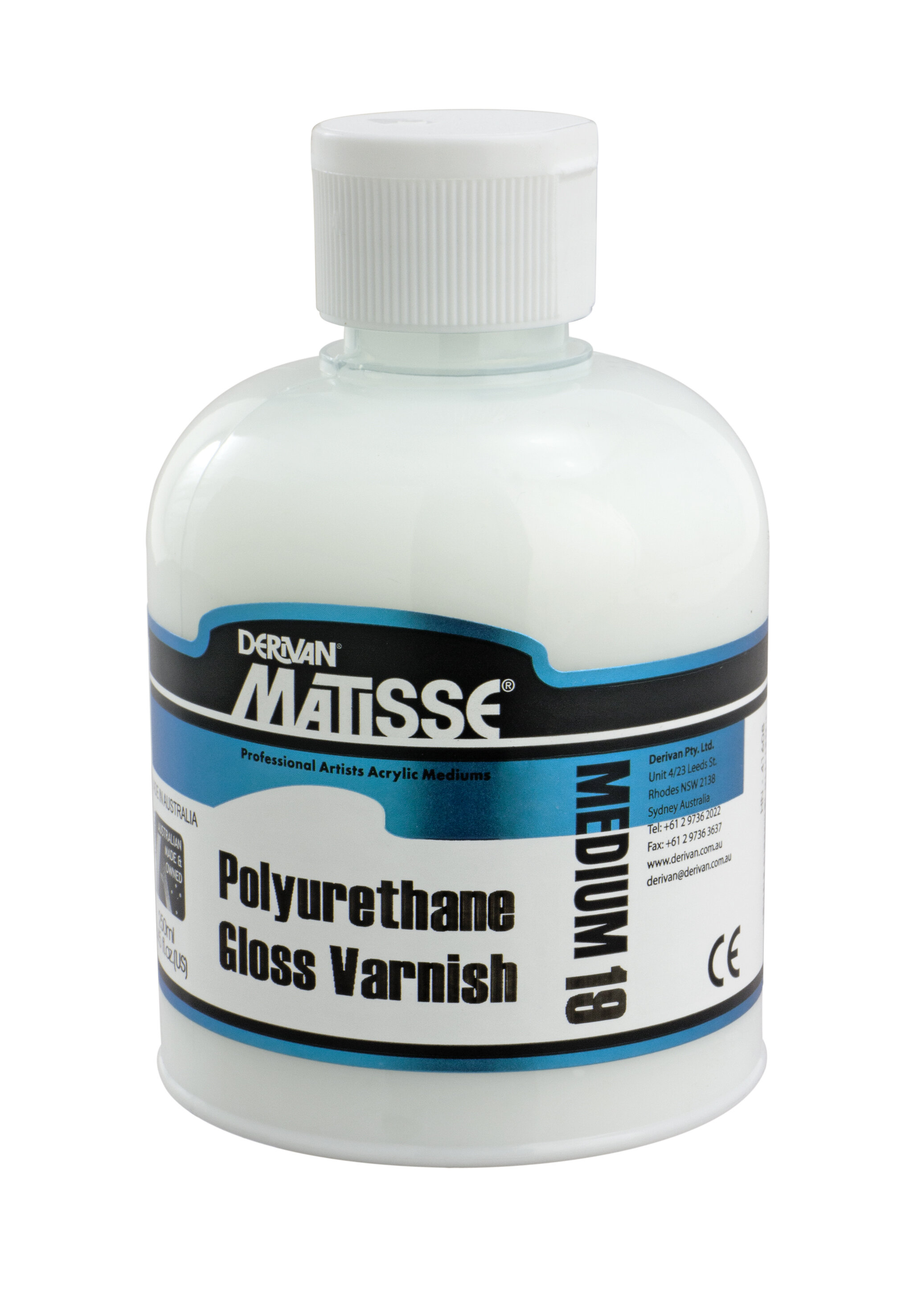 MM19 Polyurethane Gloss Varnish - ———————Water-based polyurethane varnish with a non-yellowing hard wearing high gloss finish (for use on rigid surfaces only)