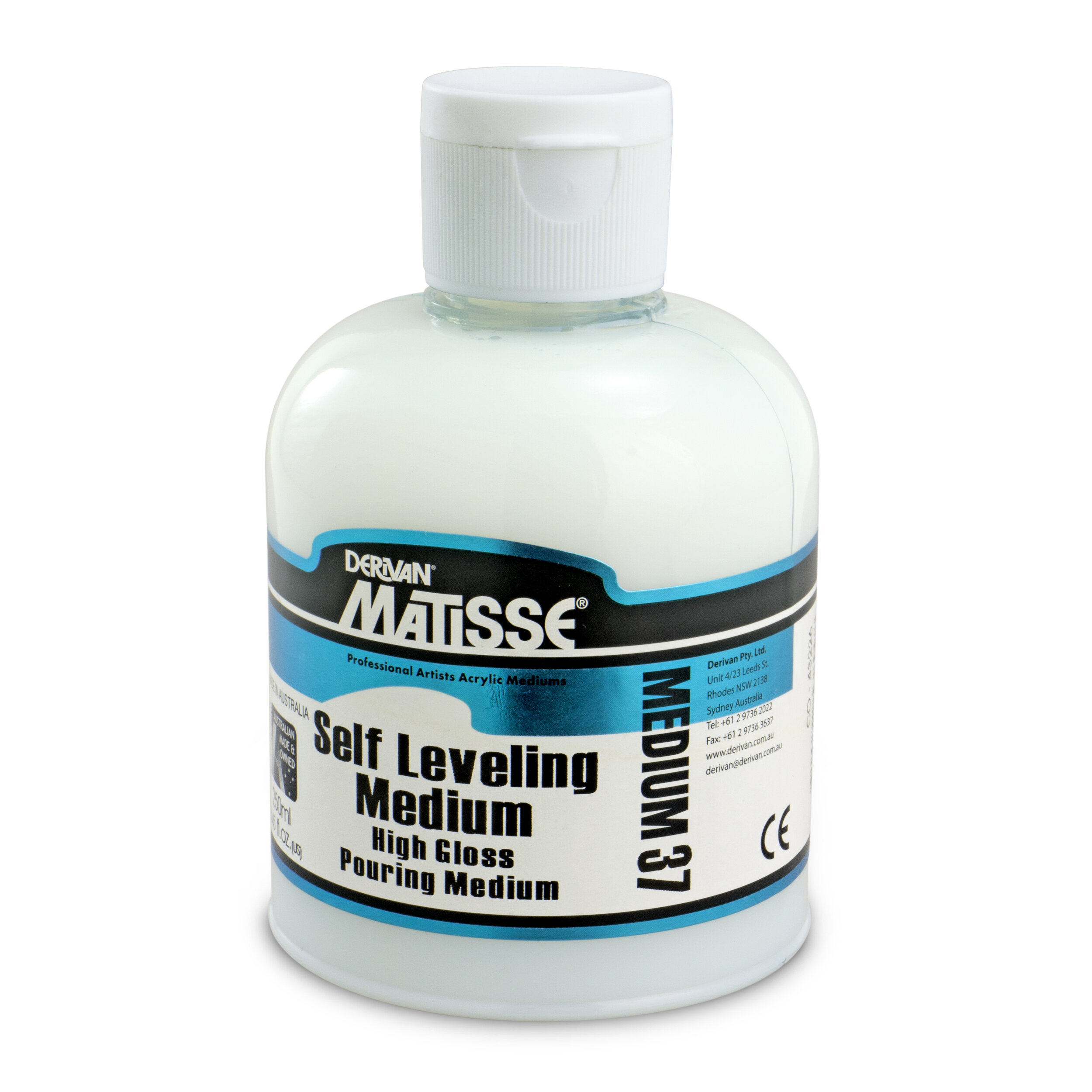 MM37 Self Leveling Medium - ———————Additive that creates smooth, glossy finishes with minimal surface texture.