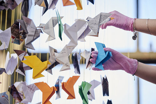 How to Make a Paper Rocket Ship - Origami | Paper rockets, Origami ... | 332x500