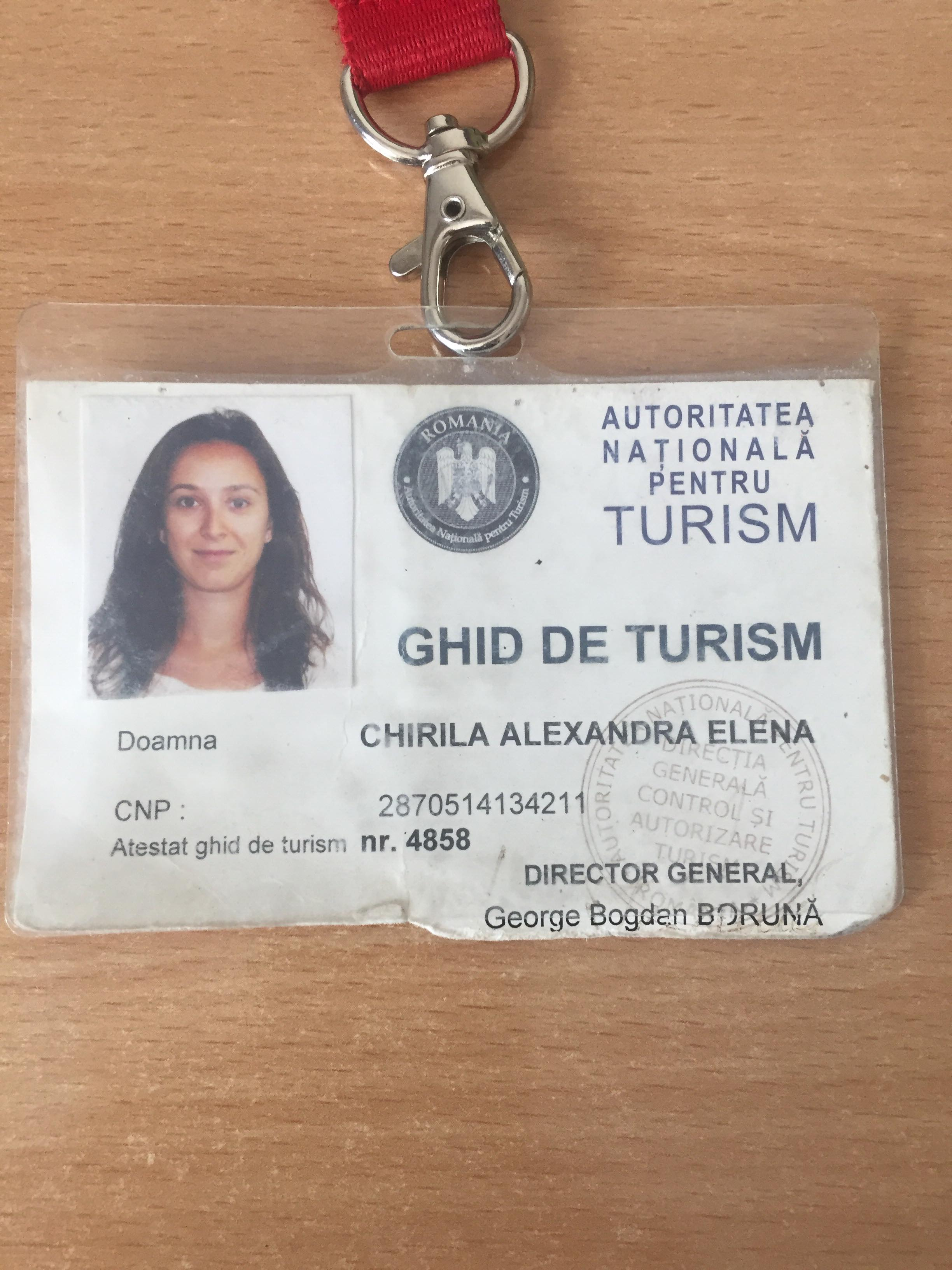 Tour Guide Licence