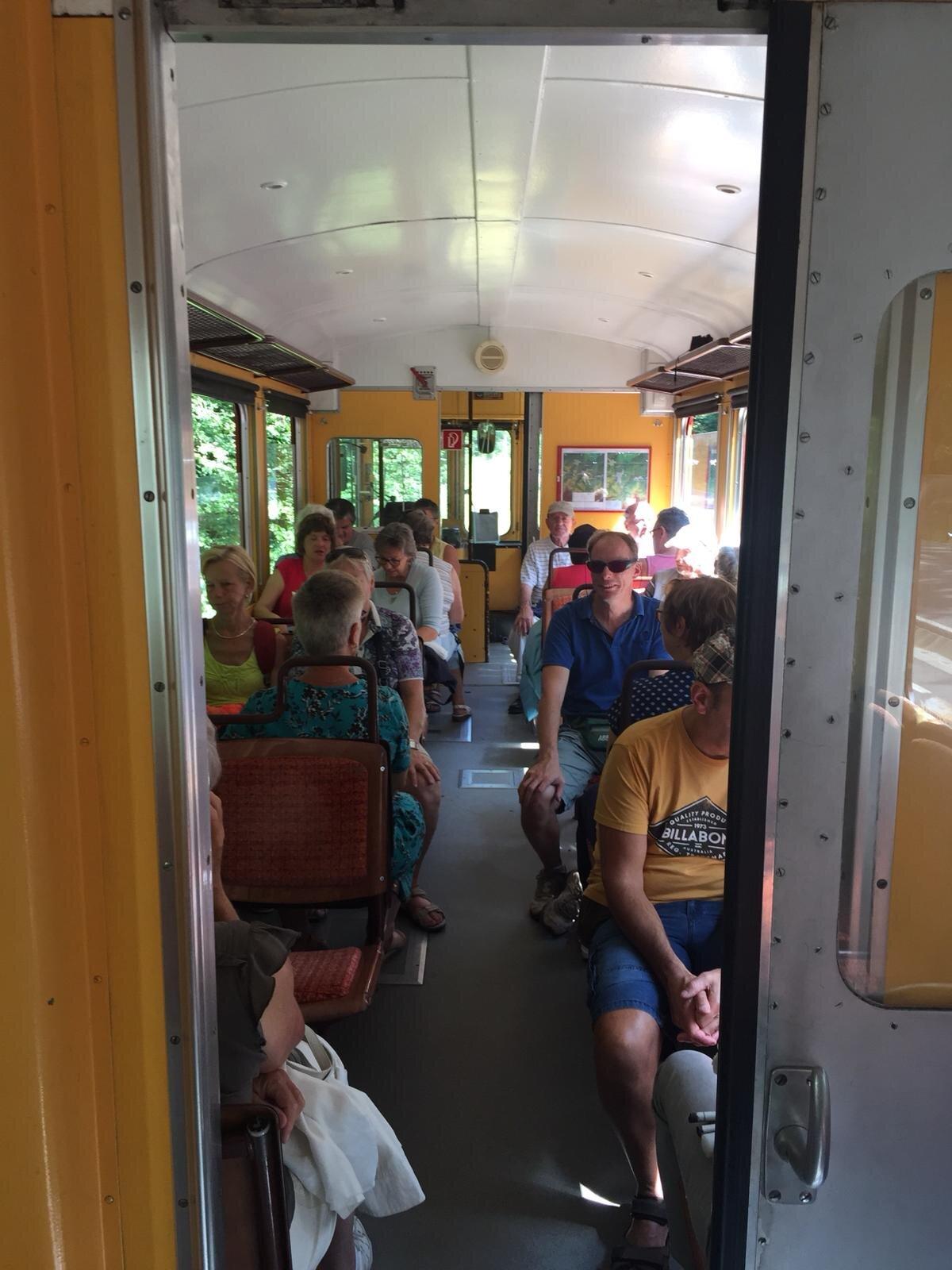 Tourist Train in Rasinari