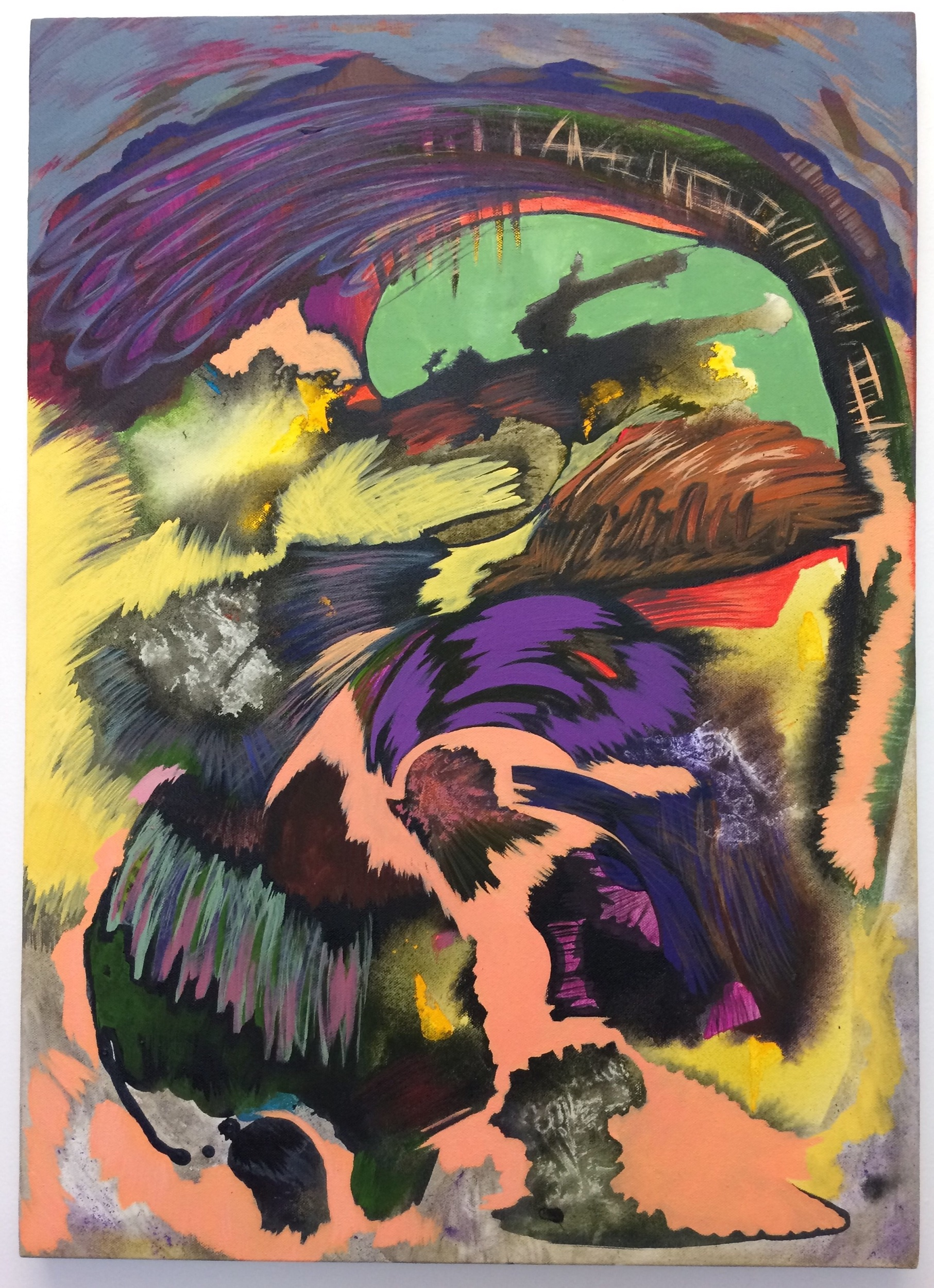 4. Phantasmagoric permissions, 2018, acrylic on canvas, 70cm x 50cm.jpeg