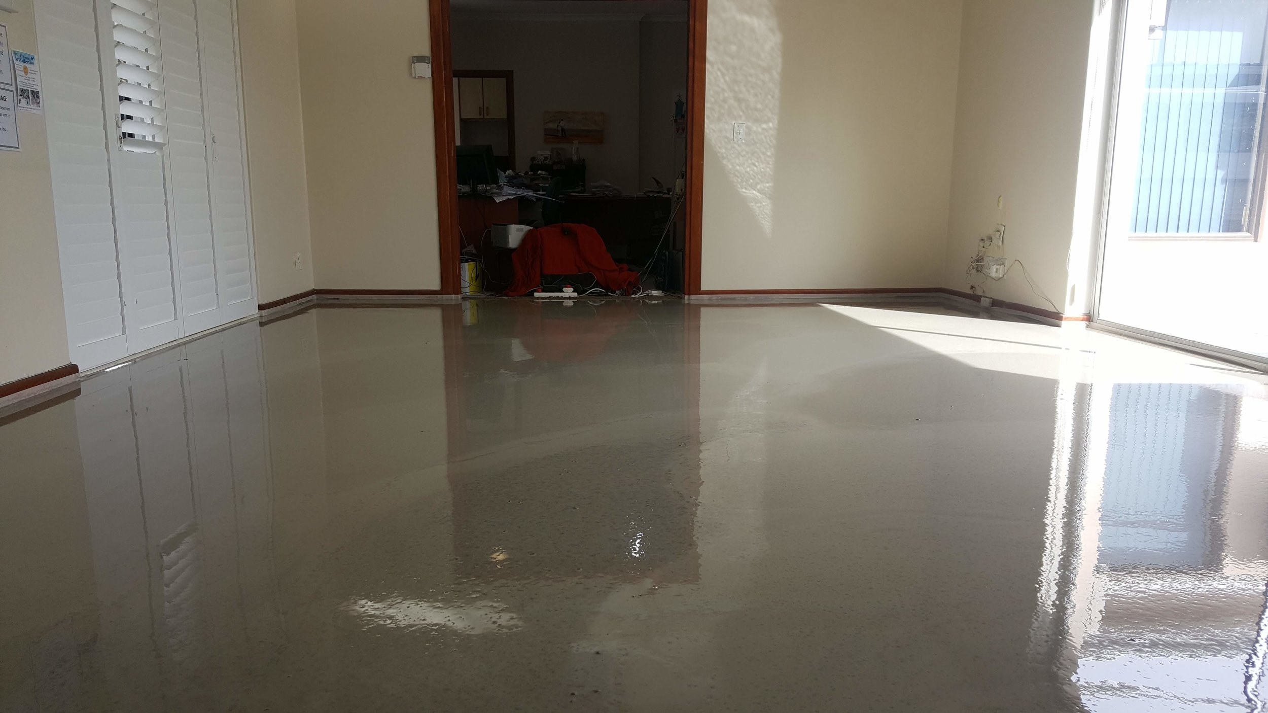 Screed Finished