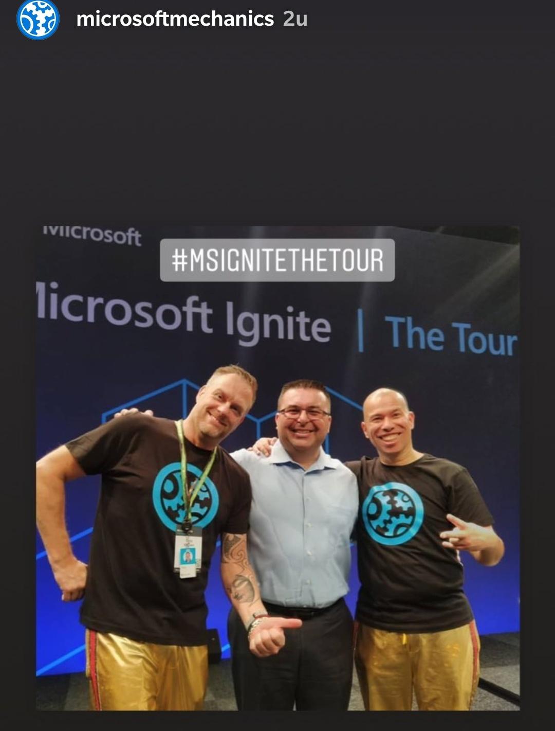 Onze Eclectix shirts voor Microsoft