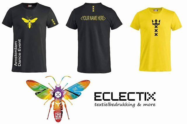 Going to Ade this week? Get your personalized & unique ADE shirt or hoody at @eclectix.amsterdam ! #printingiswhatwedo #ade #Tshirtbedrukken #drukkerij #amsterdam #dance #event