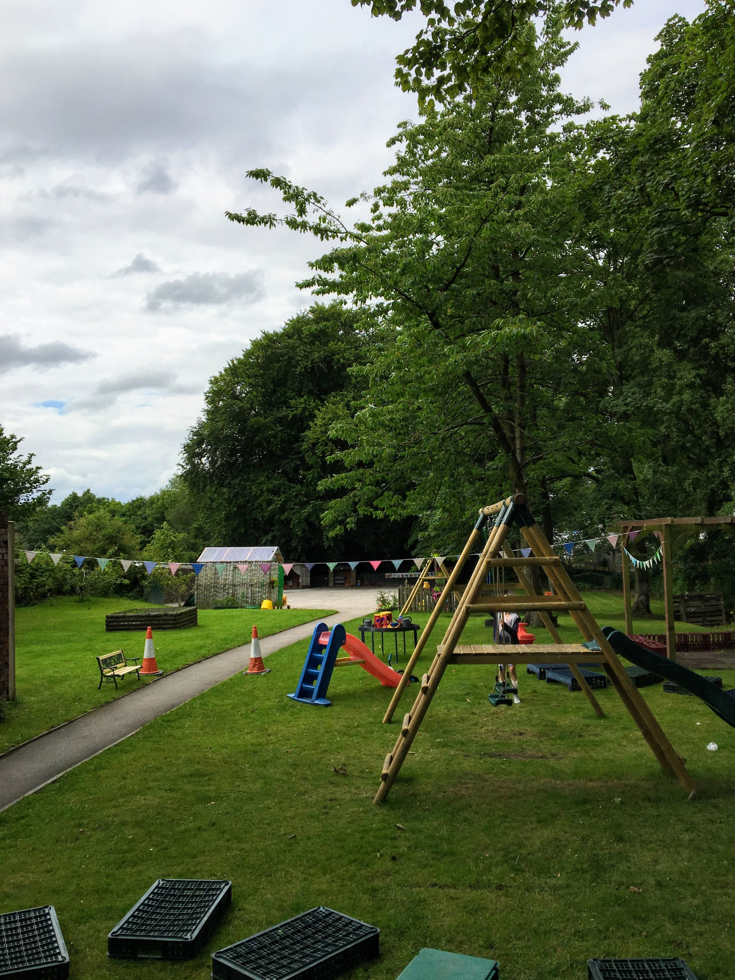 Our Garden - Take a look at our large garden play area
