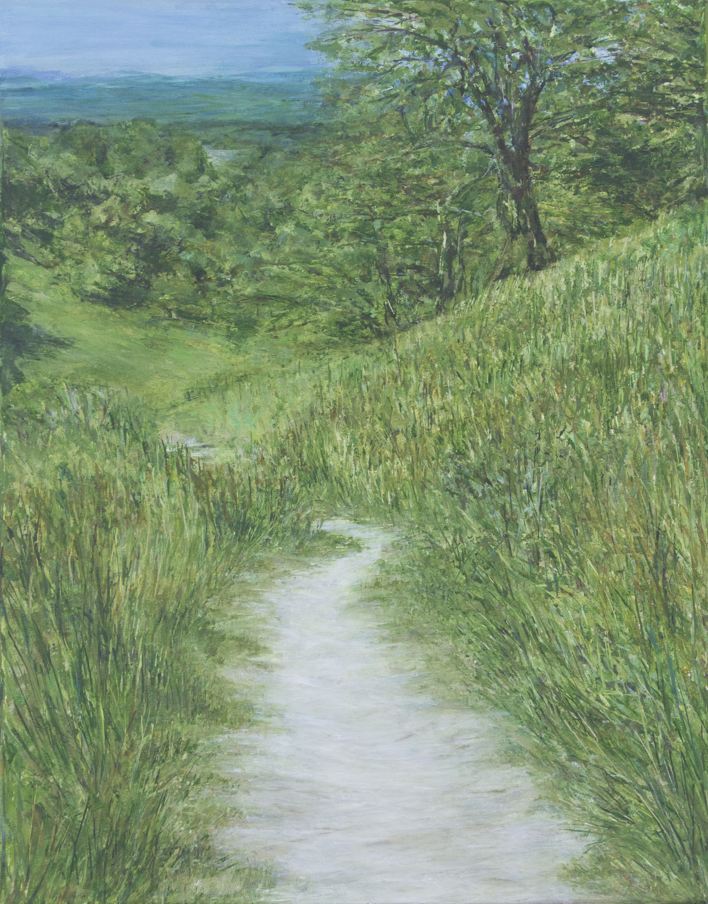 Path to Poynings - Acrylic paint on canvas50cm x 40cm£575 framed