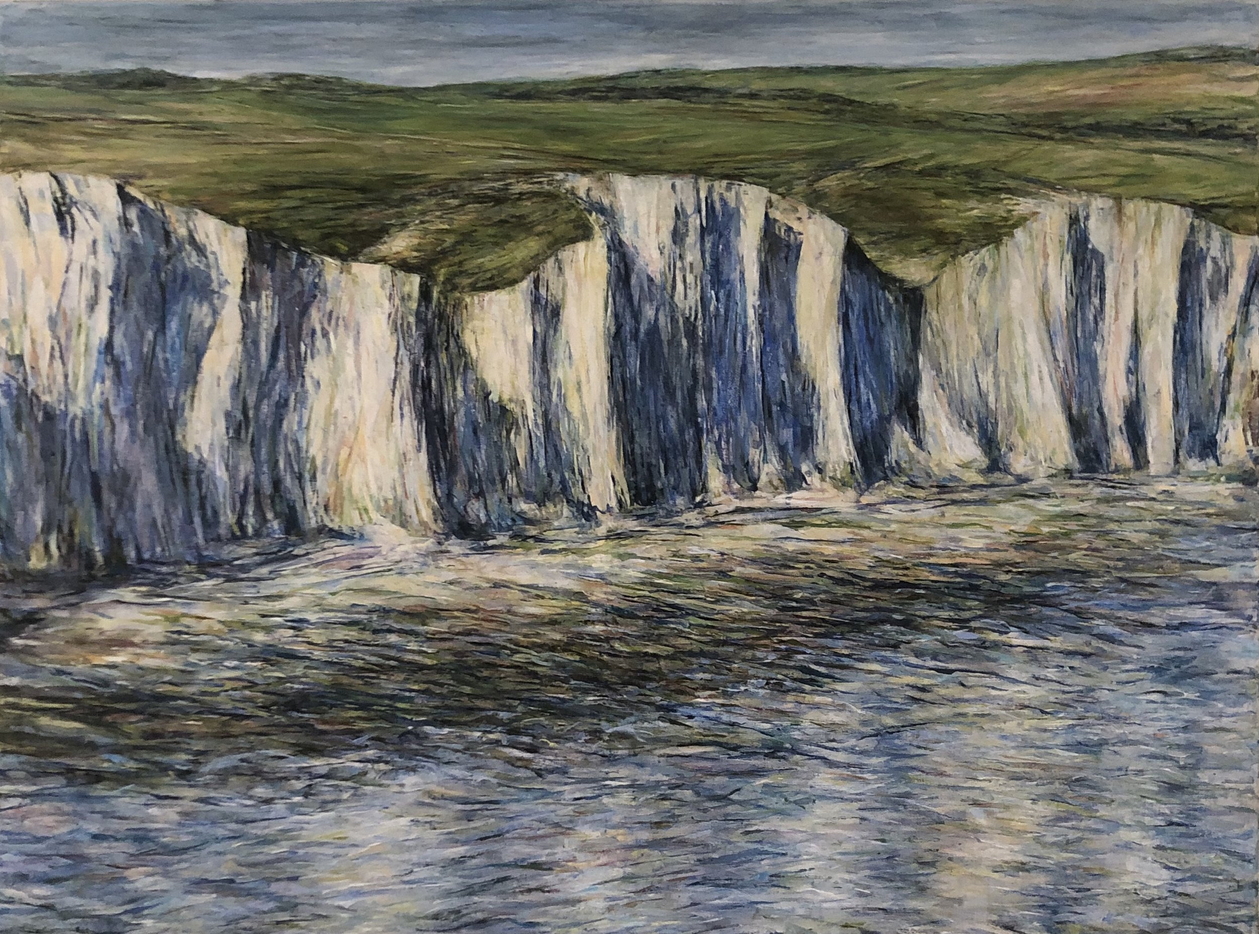 The Seven Sisters - Oil pastel and acrylic paint on canvas60cm x 80cm£950 framed