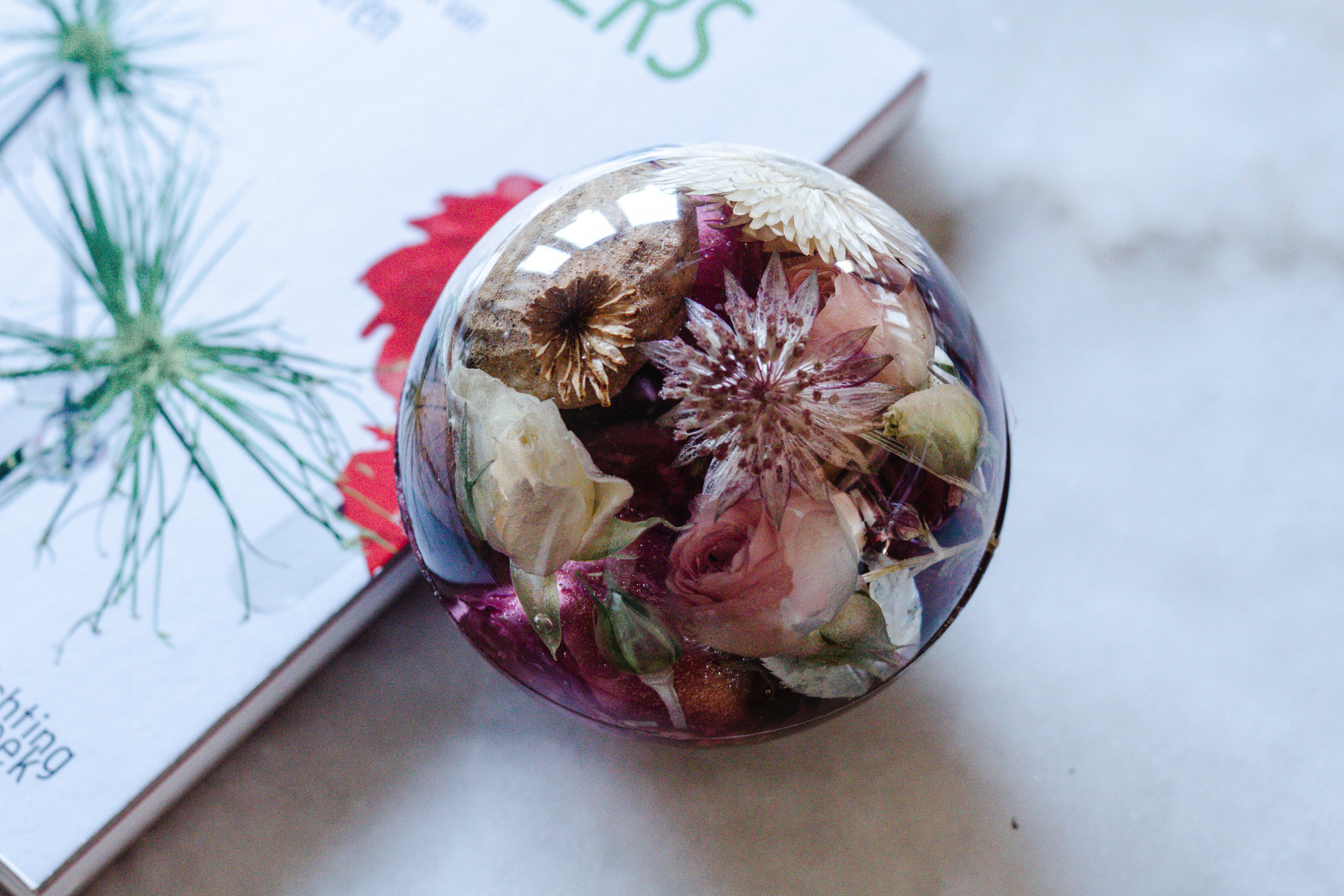 Floral Paperweights