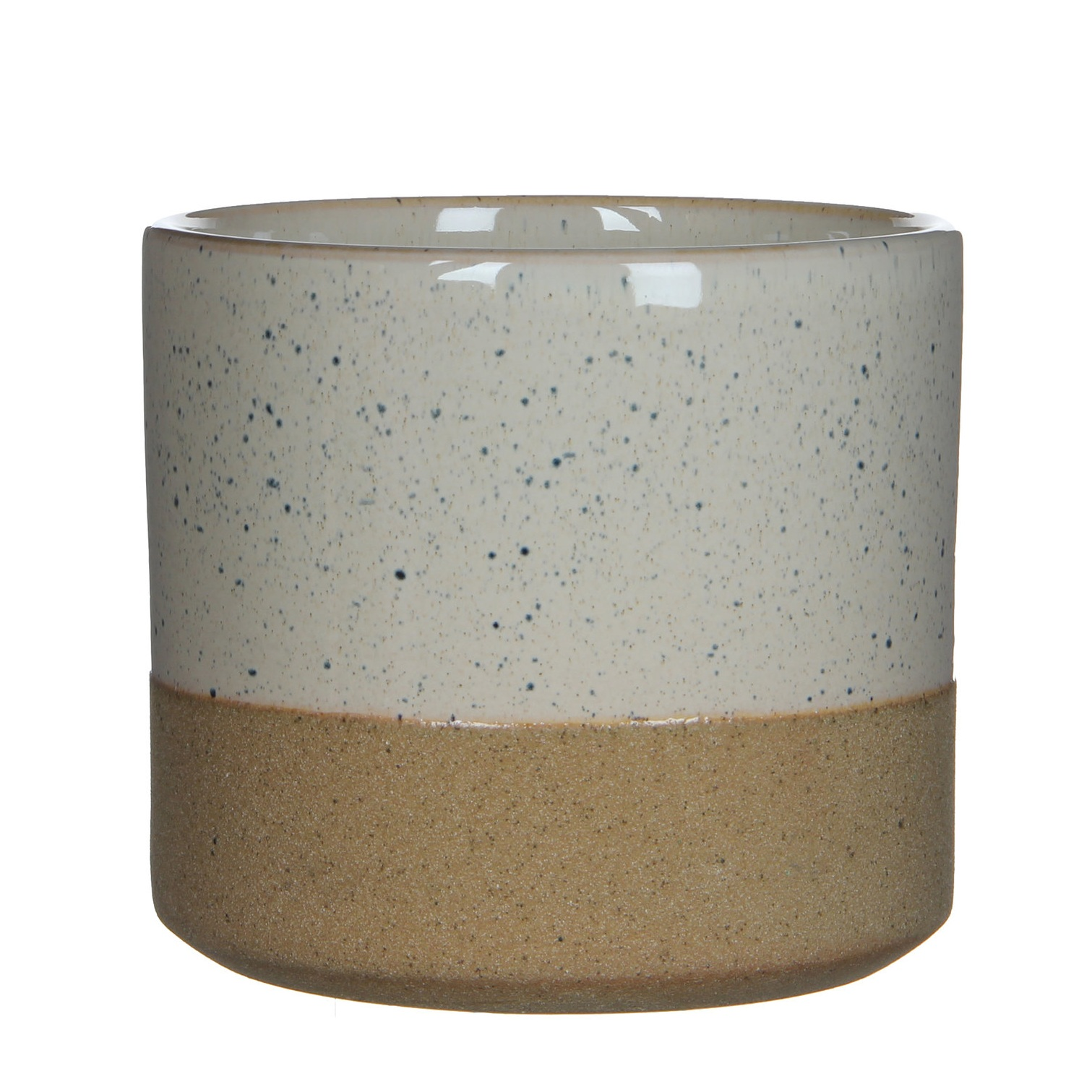 Two tone dipped plant pot