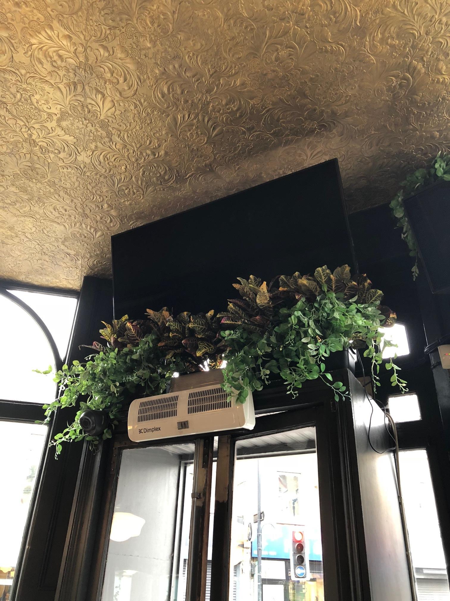 Artificial Plant Installation in a London pub