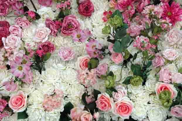 Artificial Flower wall