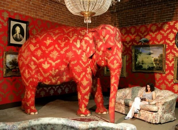 The Elephant in the Room - We spend all our time earning money we don't have time to enjoy! We neglect the people and things which matter to us most, to do it!