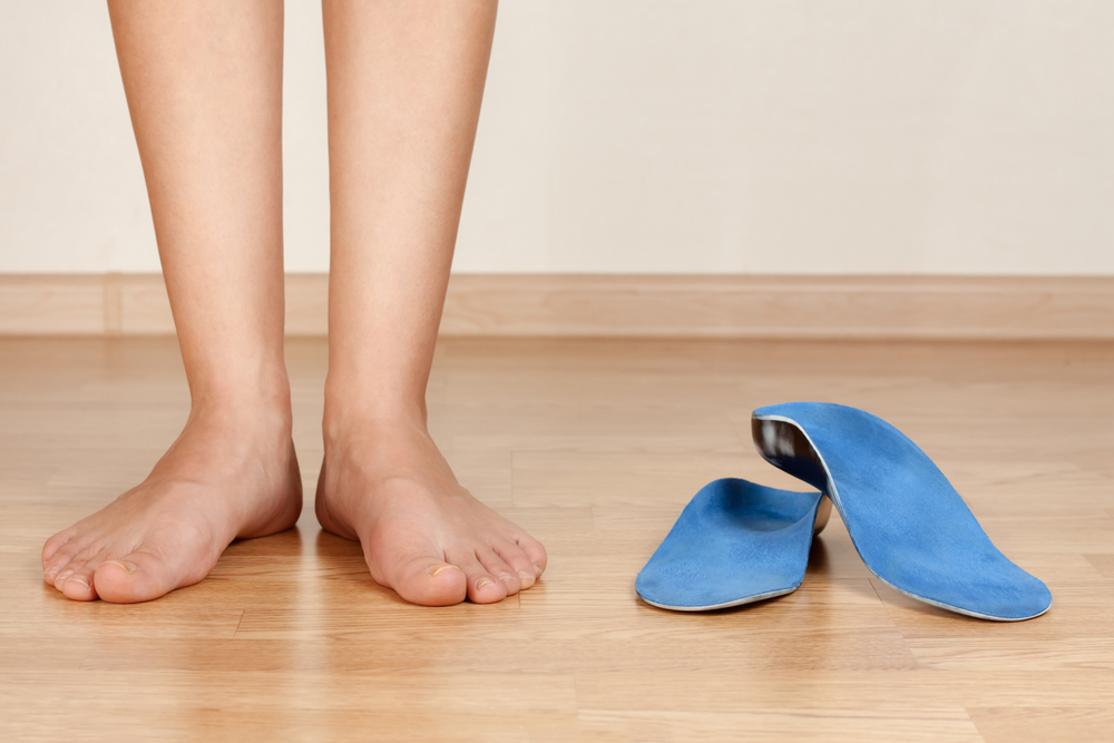 find pain relief with custom orthotic shoe inserts