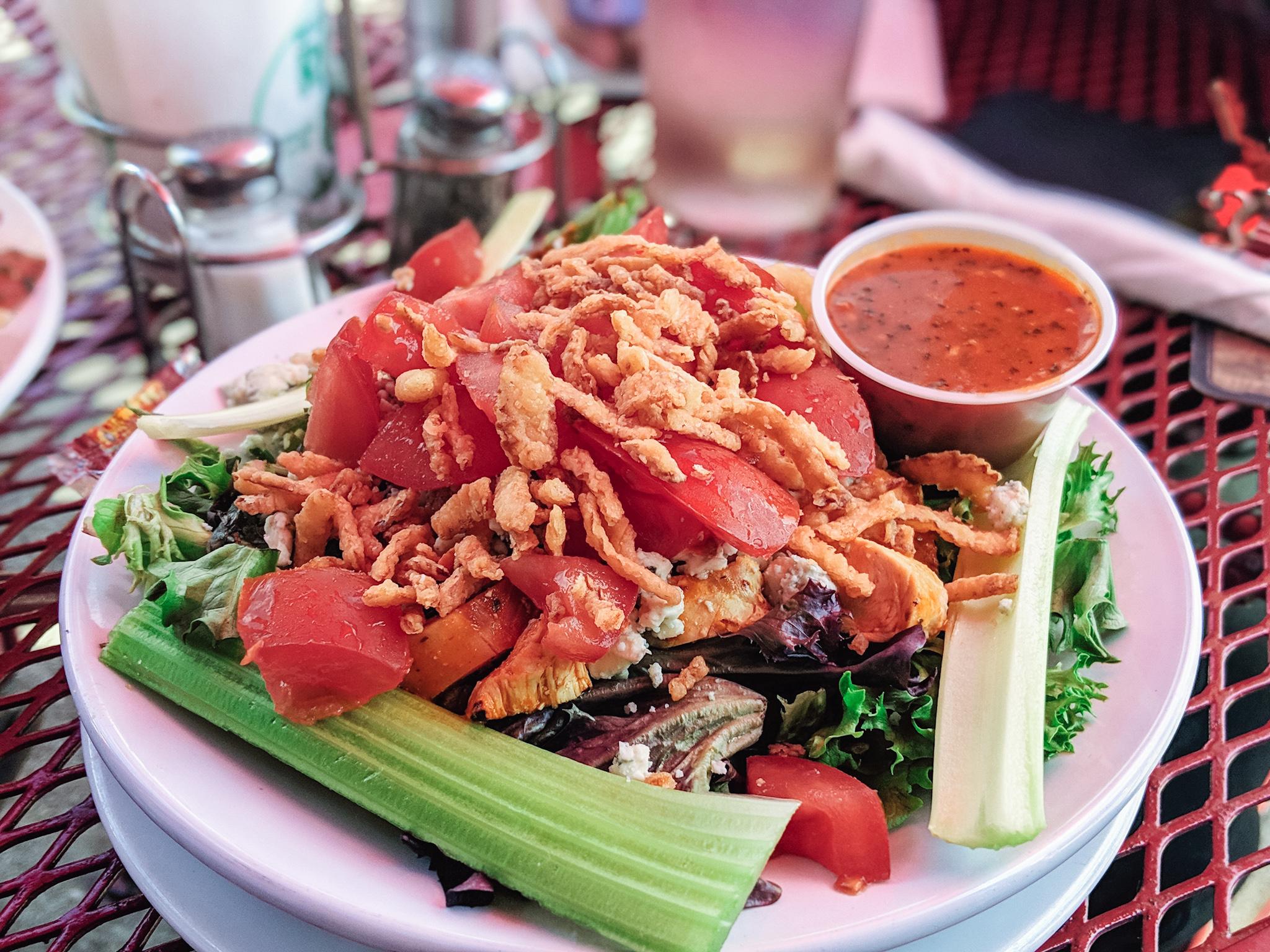Copy of Leprechaun spicy chicken salad
