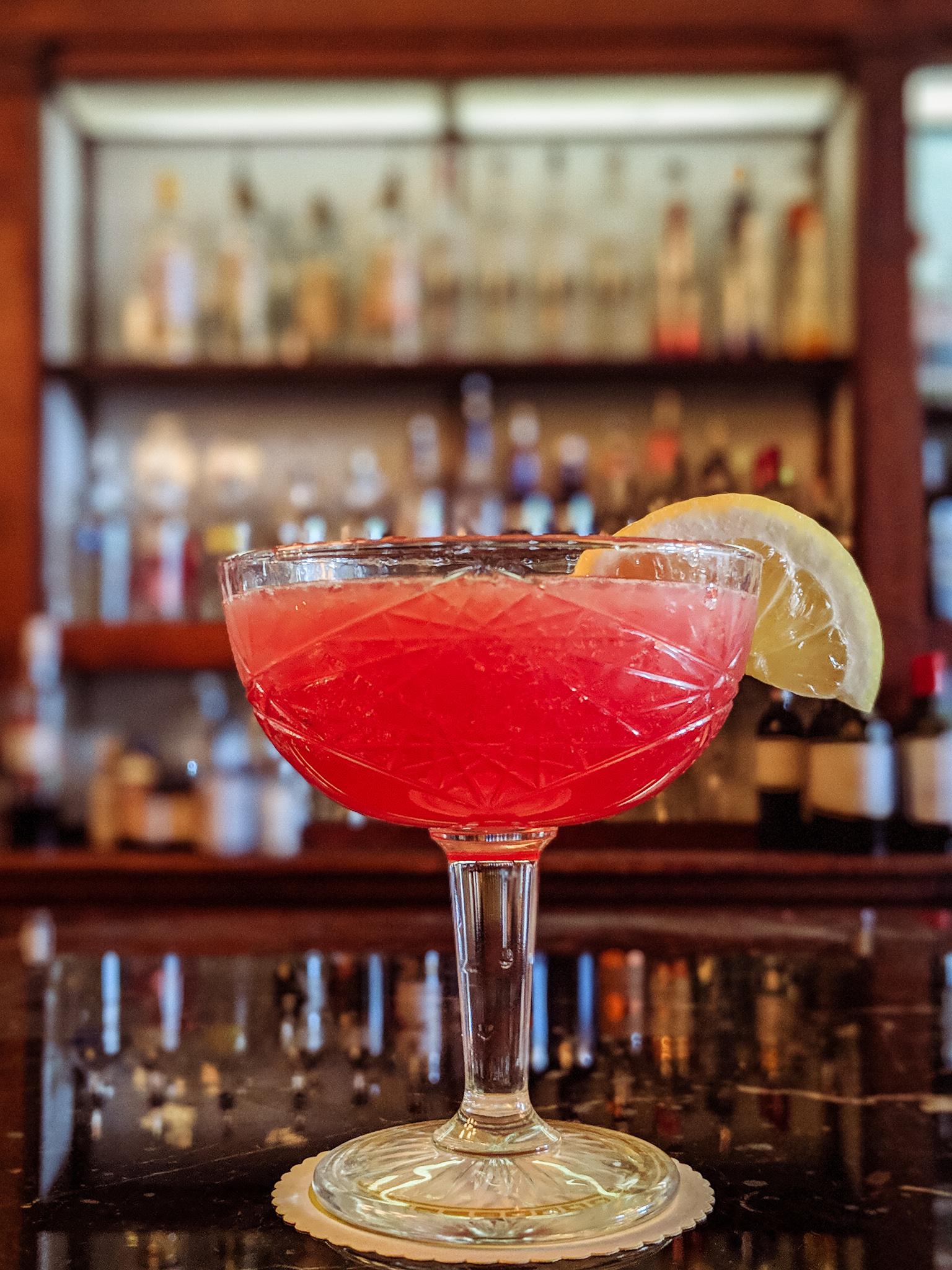 Copy of Pomegranate limoncello martini