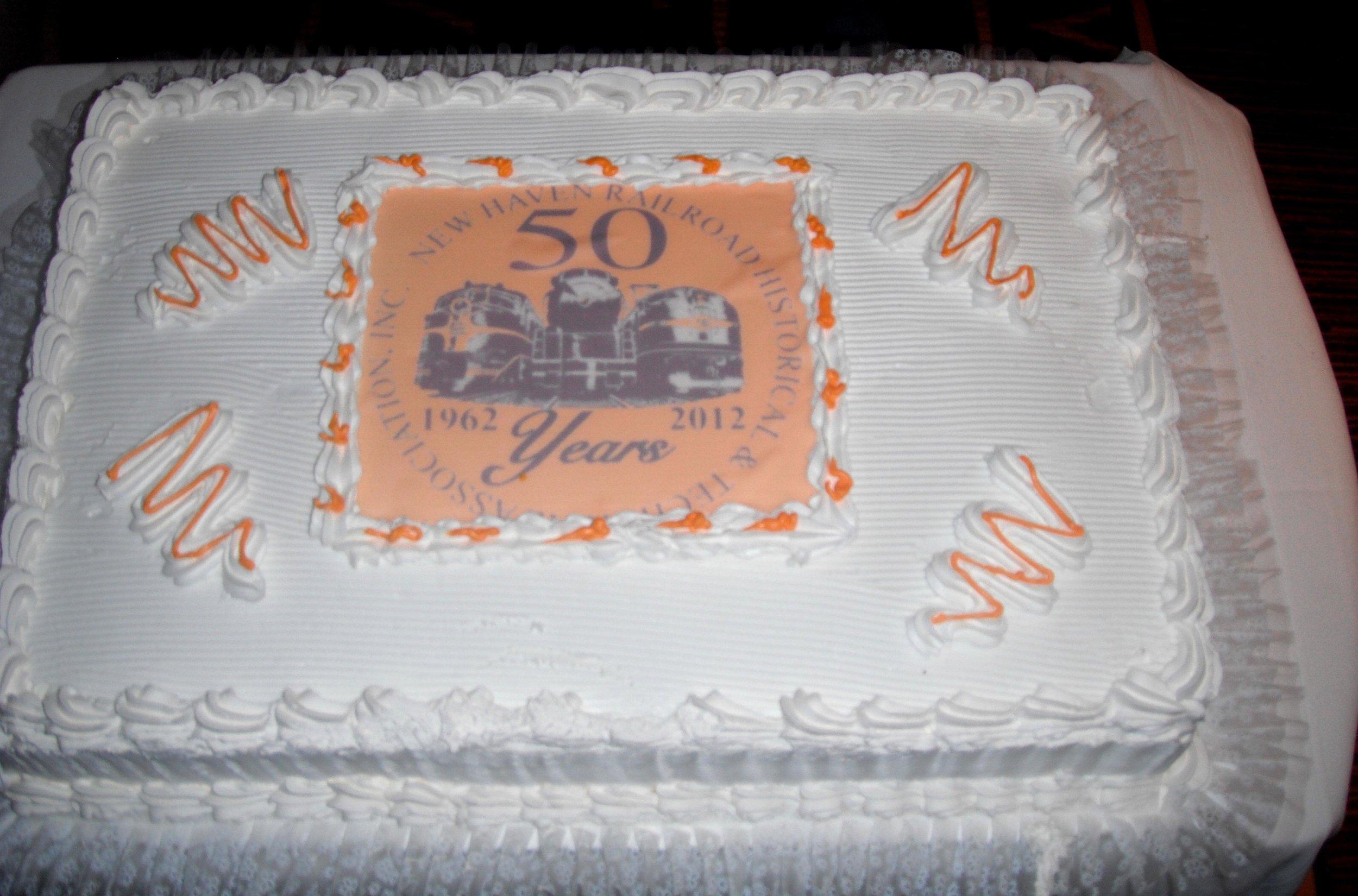 NHRHTA Anniversary cake