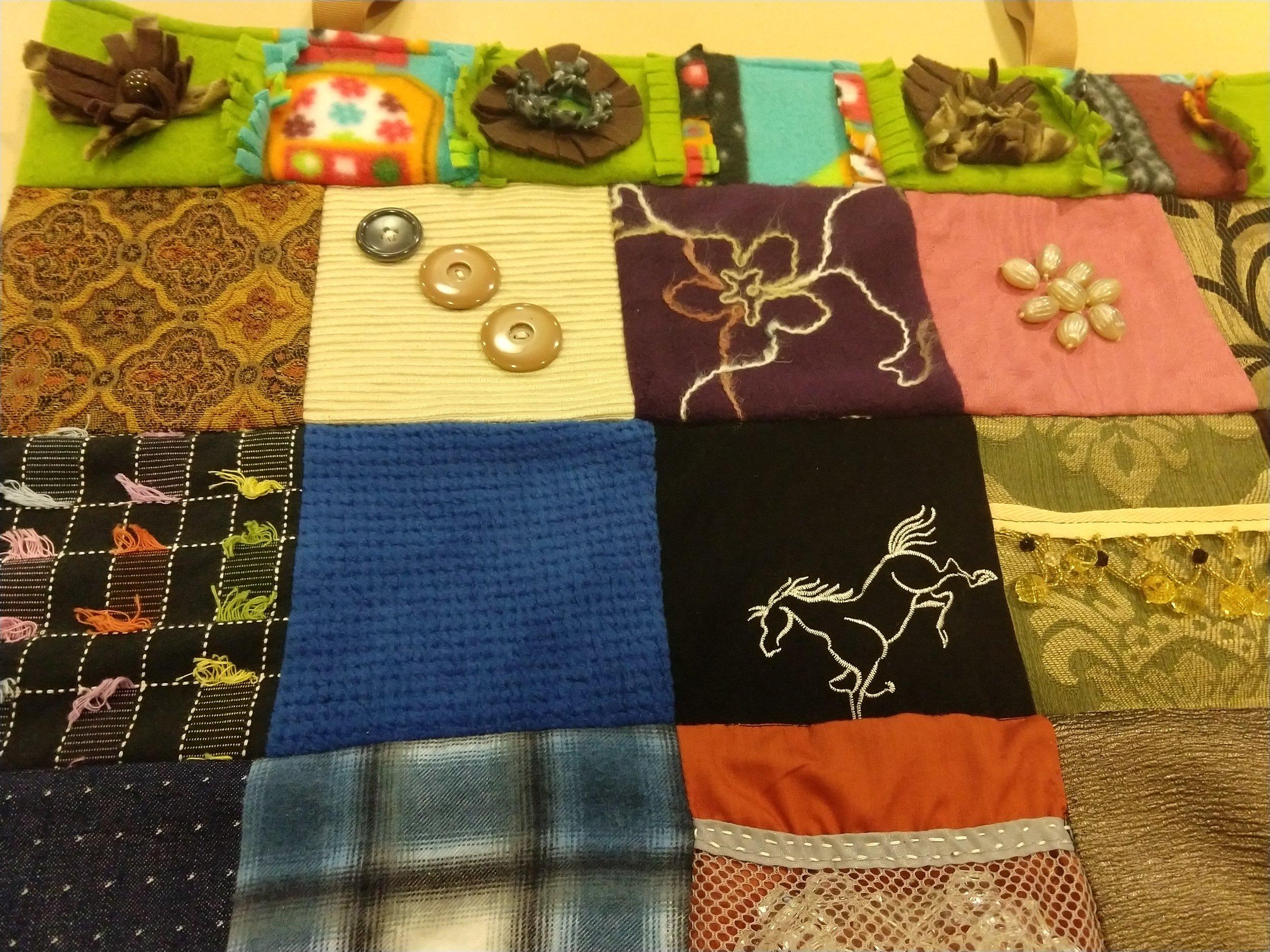 Fidget Quilts for Memory Care Patients