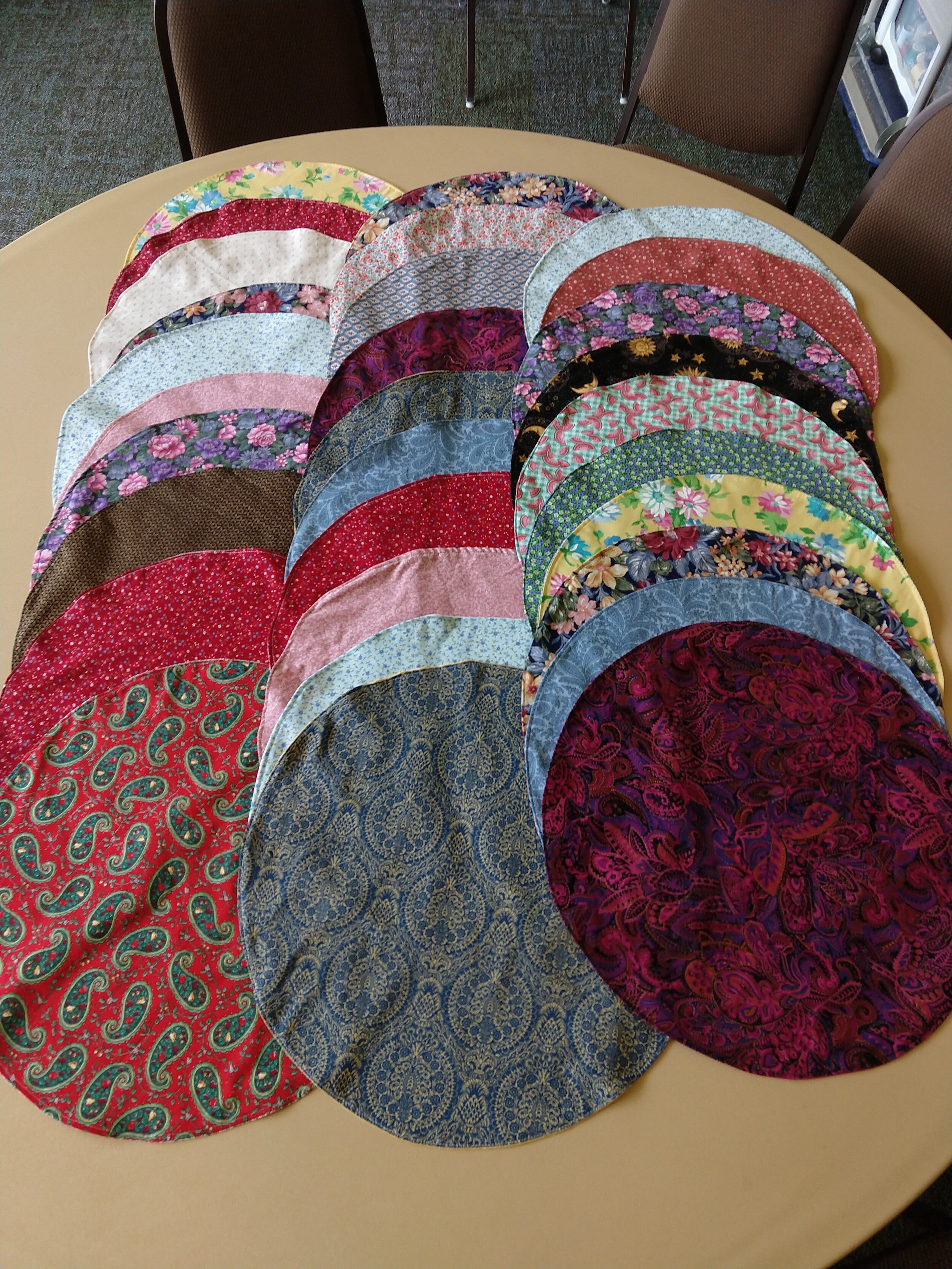 Table-toppers for Mosaic…they are reversible too!