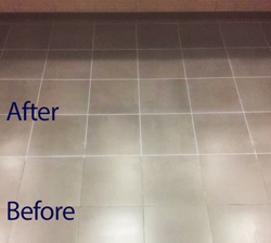 Grout restoration. - The thing that makes a tile or natural stone floor look old is dirty ugly grout. Natural Cleaning Systems can clean , seal and re-colour your grout any Colour you would like it. This process will make your floor look new .