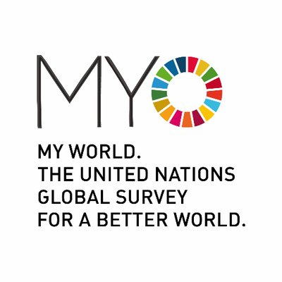 Take the My World Survey  and have your say in sustainable development.