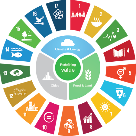 The SDG Compass explains how the SDGs affect your business – offering you the  tools and knowledge to put sustainability at the heart of your strategy business .  The guide presents five steps for companies to maximize their contribution to the SDGs. Companies can apply the five steps to set or align their course, depending on where they are on the journey of ensuring that sustainability is an outcome of core business strategy