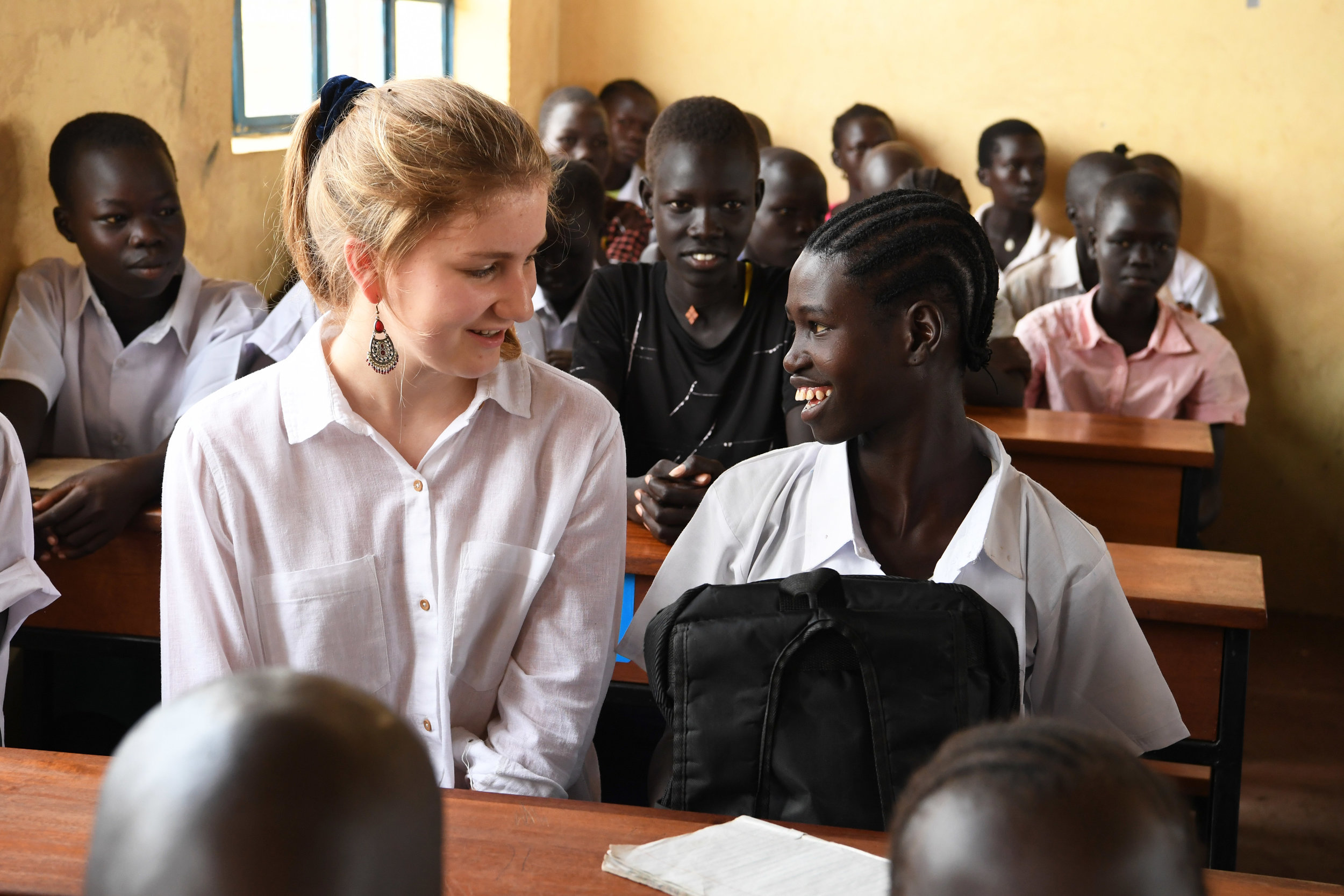Princess Elisabeth accompanied her Mother, Queen Mathilde, on the UNICEF-led mission to Kenya.