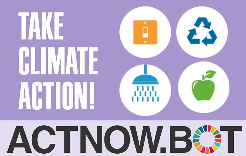 Take Action on Climate Change  with these 10 everyday actions! Act Now!