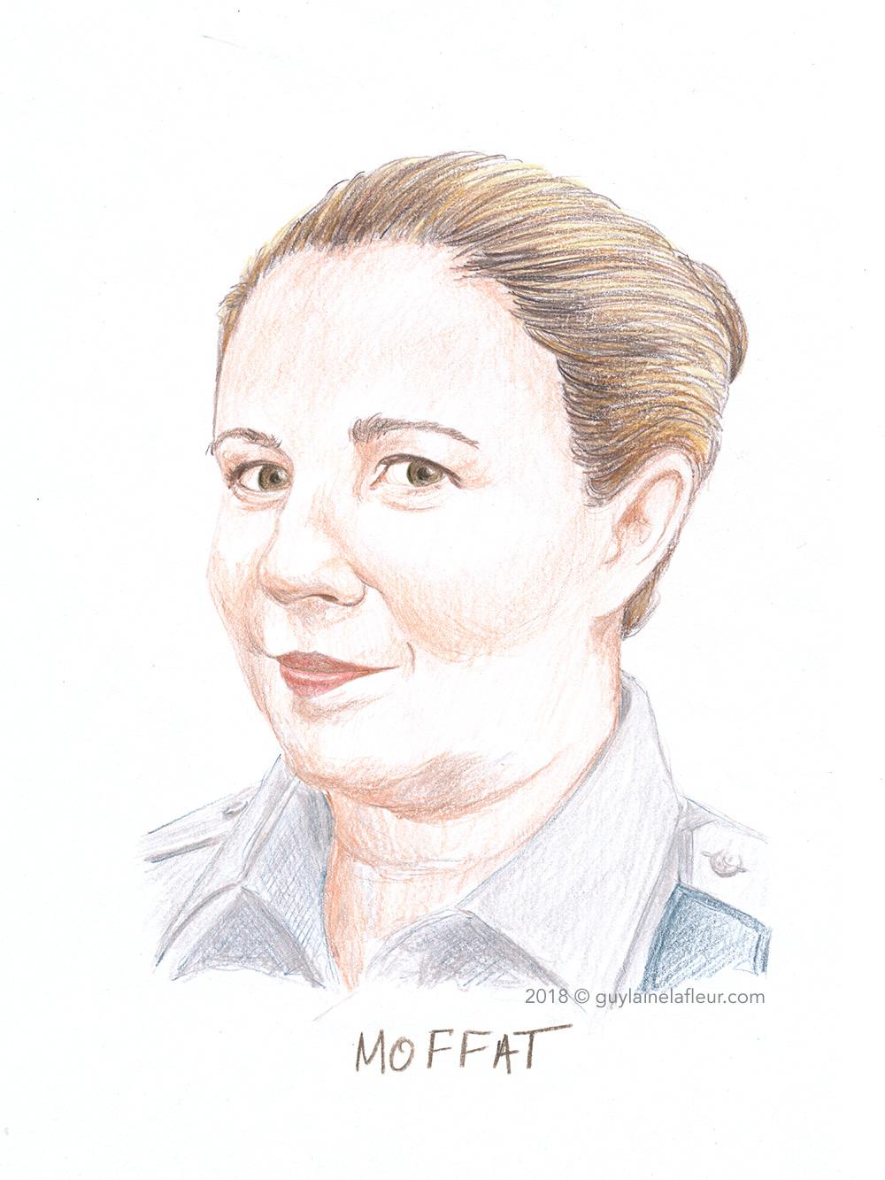 Claudine Moffat - Jessica Barker